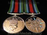 FULL SIZE OPERATIONAL SERVICE MEDAL SIERRA LEONE (OSM) REPLACEMENT COPY